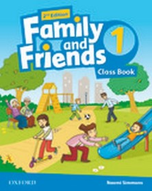 Family and Friends Level 1 Class Book second edition
